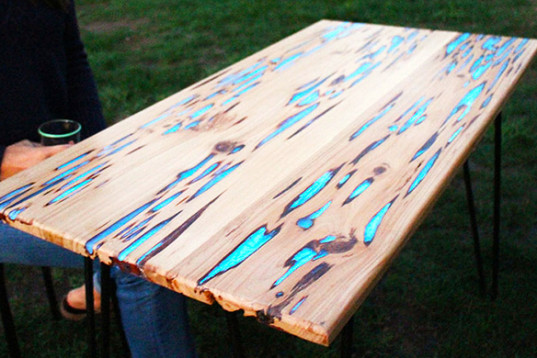 How To Create A Phosphorescent Table Stardustcolors Paints