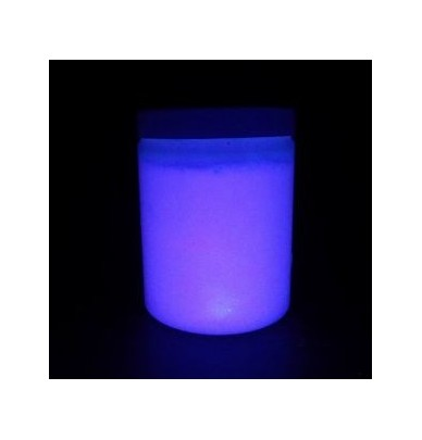 250ml waterbased Blacklight paint for murals YELLOW