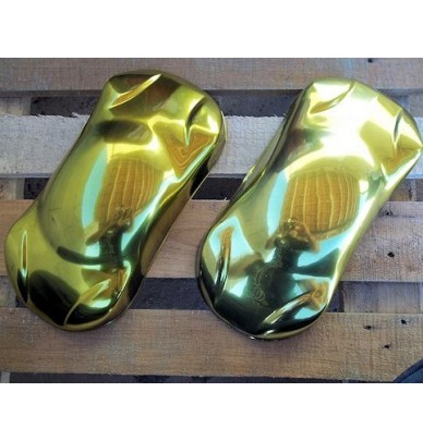 MIRROR-LIKE GOLD PAINT - COMPLETE KIT