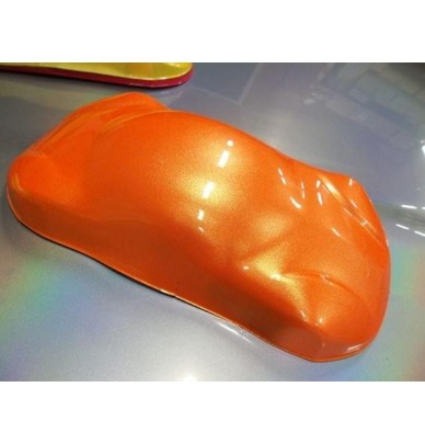 CAR TUNING KIT - orange and gold