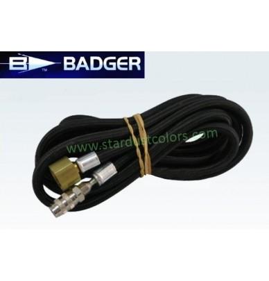 BADGER braided air hose 1.8m