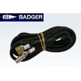 BADGER braided air hose 1.8m