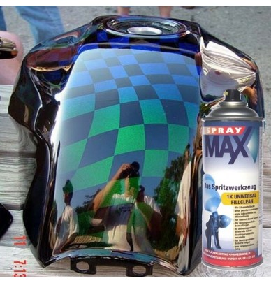Uhs Clearcoat Spraycan Version 290ml Clearcoats