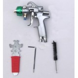 Dual Nozzle Chrome Paint Spray Gun