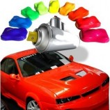 Fluorescent paint for car and motocycle 1C basecoat
