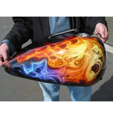 True Fire - StardustColors flame stencil