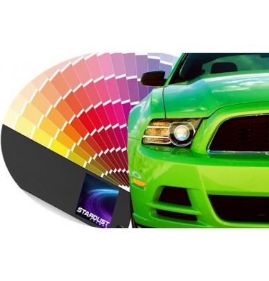 Automotive solvent-based 1K Paint to clearcoat - Manufacturer's colour tone