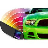 Automotive solvent-based 1K Paint to clearcoat - Manufacturer's colour tone