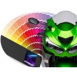 Solvent based motorcycle paint to clearcoat - All manufacturer's colours tone