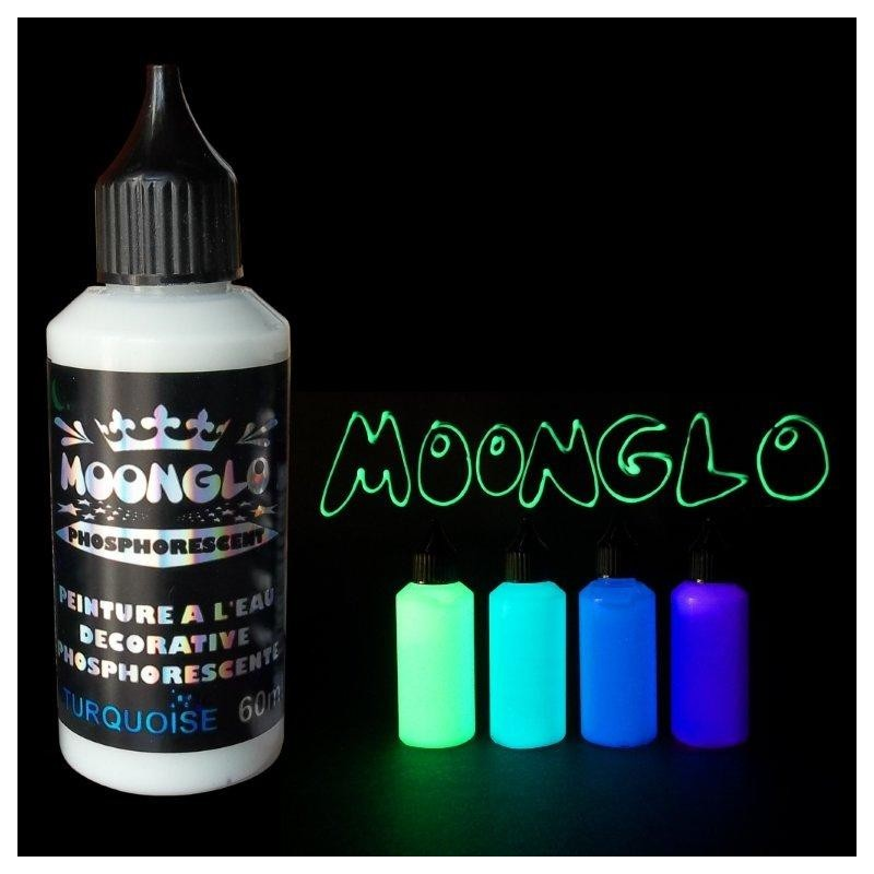 60ml phosphorescent paint water based paints - Glow in the dark paint colors ...