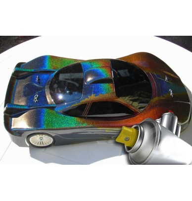 3D Holographic Effect Paint Spray