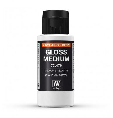 Transparent medium for airbrush