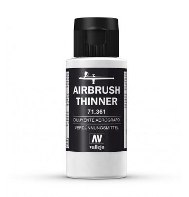Thinner for special airbrush acrylic paint