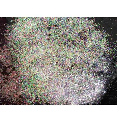 Iridescent flakes for auto body work