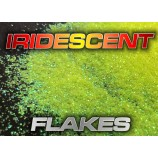 Iridescent flakes for auto body work