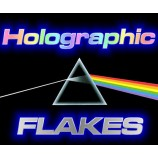 Holographic ultra thin flakes