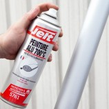 BLACK OR ALUMINUM HIGH TEMPERATURE PAINT 700 °C - SPRAYCAN 400ml