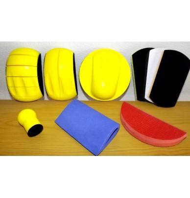 Set of sanding blocks