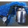 High performance Sandblasting Gun with pressure adjustment gauge