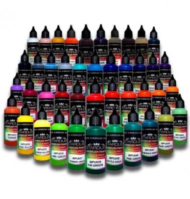 Artistic Pro Series – 43 Airbrush Acrylic Polyurethane Paints
