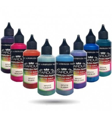 Pearl Metallic Series – 35 Airbrush Acrylic-Polyurethane Paints
