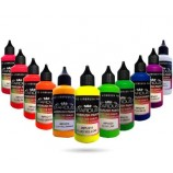 Fluorescent Series – 11 Airbrush Acrylic-Polyurethane Paints
