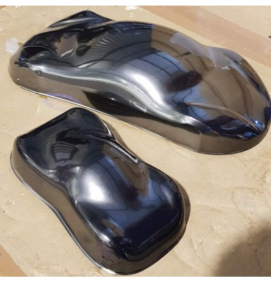 Black Chrome - Special metallic effect paint