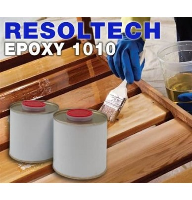 1010 Epoxy Resin, water-based product for clear coating or impregnation