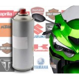 Motorcycle paint spray in original tint