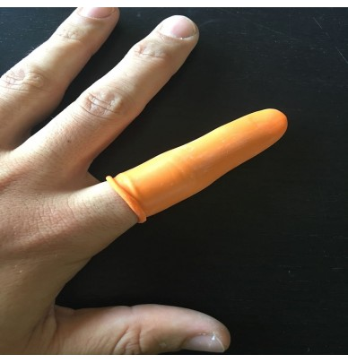 Rubber finger cots