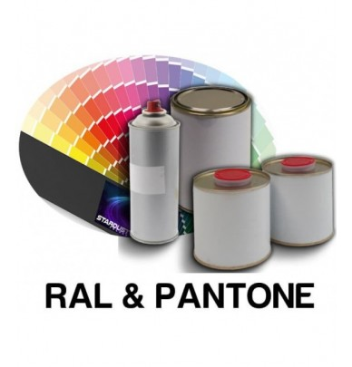 RAL or PANTONE Tints in polyurethane 2K paint