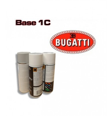 BUGATTI Car Paint in Spray Can -1K Basecoat, All Auto Colour Codes