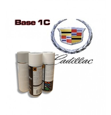 CADILLAC Car Paint in Spray Can -1K Basecoat, All Auto Colour Codes