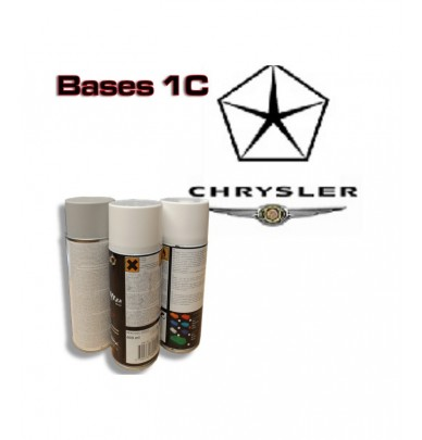 CHRYSLER Car Paint in Spray Can -1K Basecoat, All Auto Colour Codes