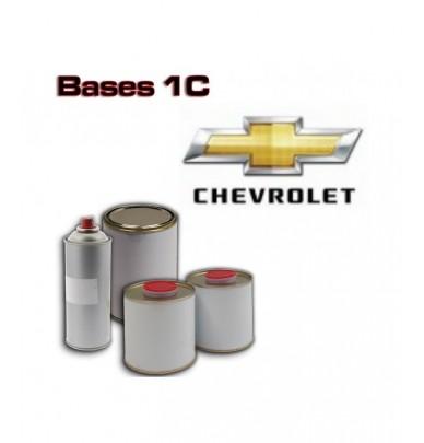 CHEVROLET 1K Basecoat - 250ml to 5L Pots - All Auto Colour Codes