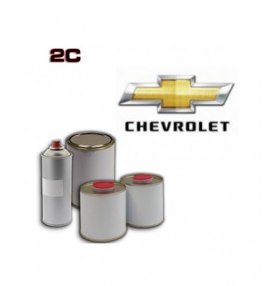 CHEVROLET 2K POLYURETHANE PAINT in Pot – For All Auto Colour Codes