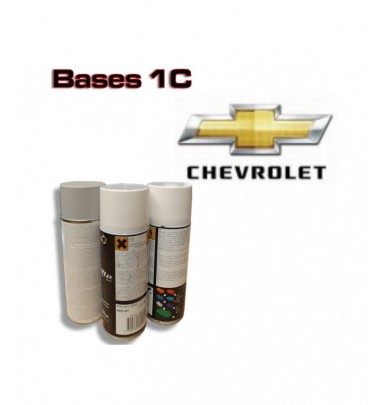 CHEVROLET Car Paint in Spray Can -1K Basecoat, All Auto Colour Codes