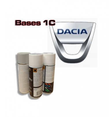 DACIA Car Paint in Spray Can -1K Basecoat, All Auto Colour Codes