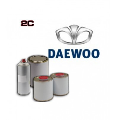 DAEWOO 2K POLYURETHANE PAINT in Pot – For All Auto Colour Codes