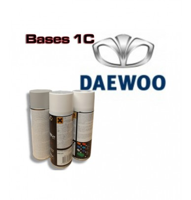 DAEWOO Car Paint in Spray Can -1K Basecoat, All Auto Colour Codes