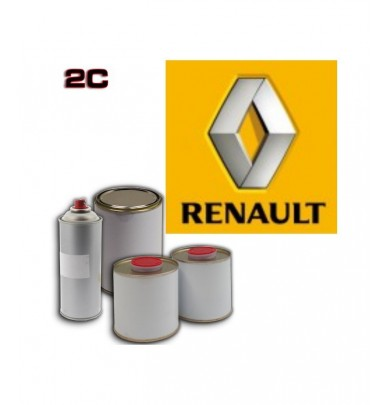 RENAULT 2K POLYURETHANE PAINT in Pot – For All Auto Colour Codes