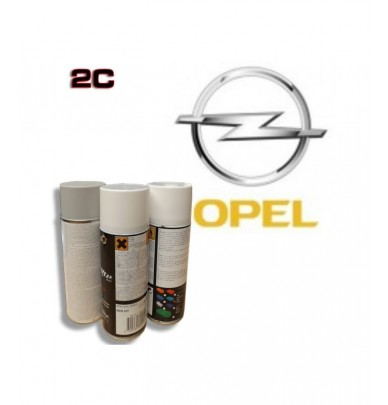 OPEL 2K paint high gloss Spray Can – For All Auto Colour Codes