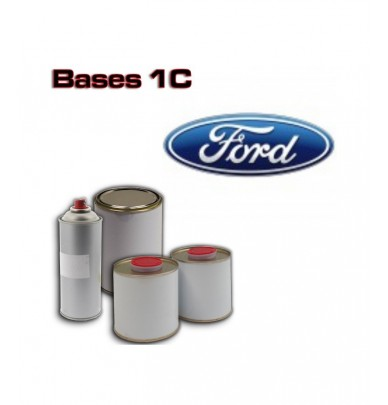 FORD 1K Basecoat - 250ml to 5L Pots - All Auto Colour Codes