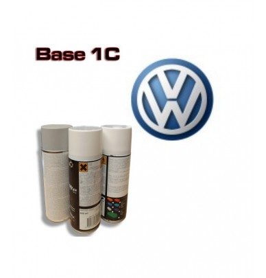 VOLSWAGEN Car Paint in Spray Can -1K Basecoat, All Auto Colour Codes
