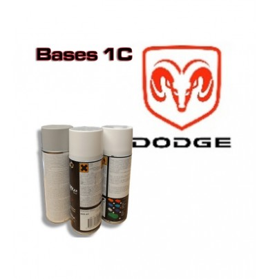 DODGE Car Paint in Spray Can -1K Basecoat, All Auto Colour Codes