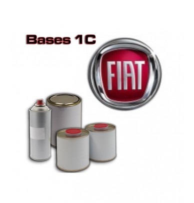 FIAT 1K Basecoat - 250ml to 5L Pots - All Auto Colour Codes