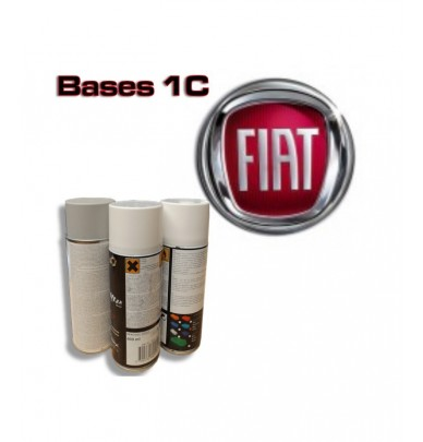 FIAT Car Paint in Spray Can -1K Basecoat, All Auto Colour Codes