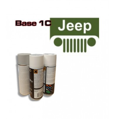 JEEP Car Paint in Spray Can -1K Basecoat, All Auto Colour Codes