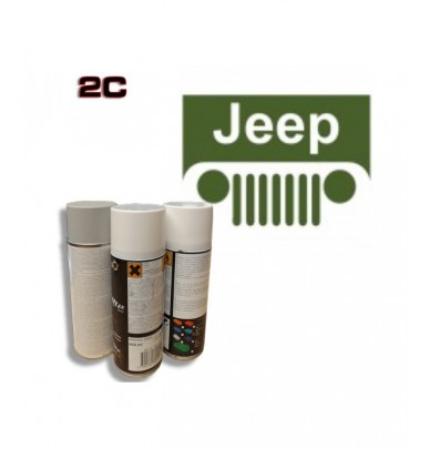 JEEP 2K paint high gloss Spray Can – For All Auto Colour Codes