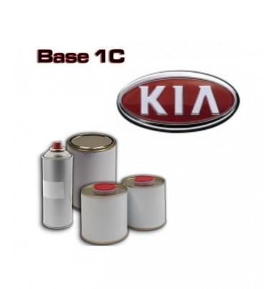 KIA 1K Basecoat - 250ml to 5L Pots - All Auto Colour Codes